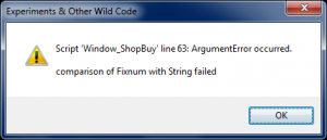 Window_ShopBuy Error