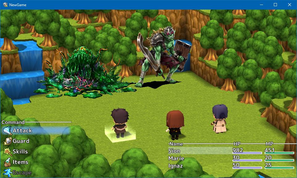 Similiar RPG Maker VX Battle Keywords