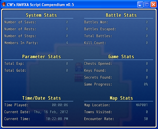 Extra Stats v1.3 (RMVXA)