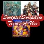 RPG Maker XP/VX/VXA Scripts/Scriptlets Terms of Use