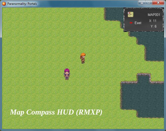 Map/Compass HUD (RMXP)