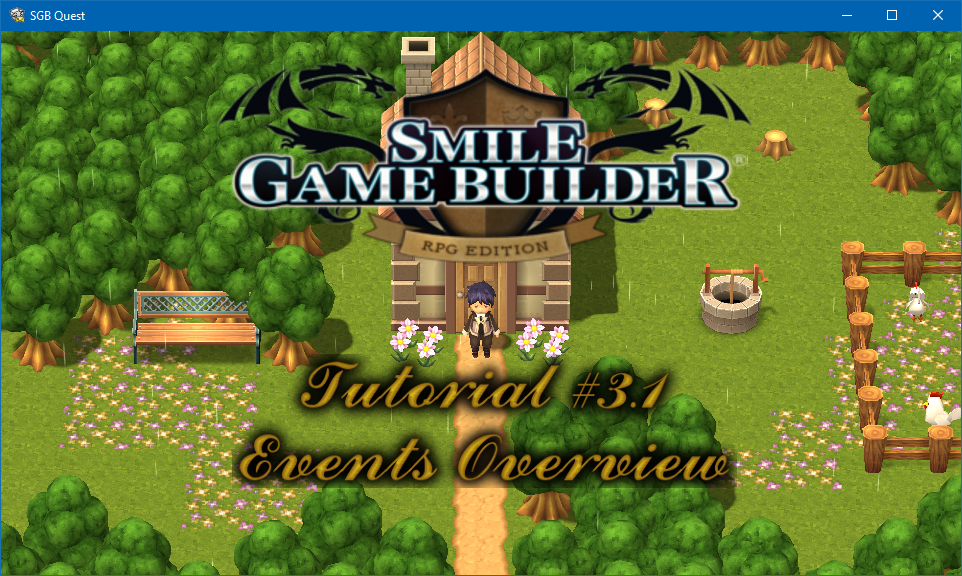 Smile Game Builder – Tutorial #3.1: Events Overview