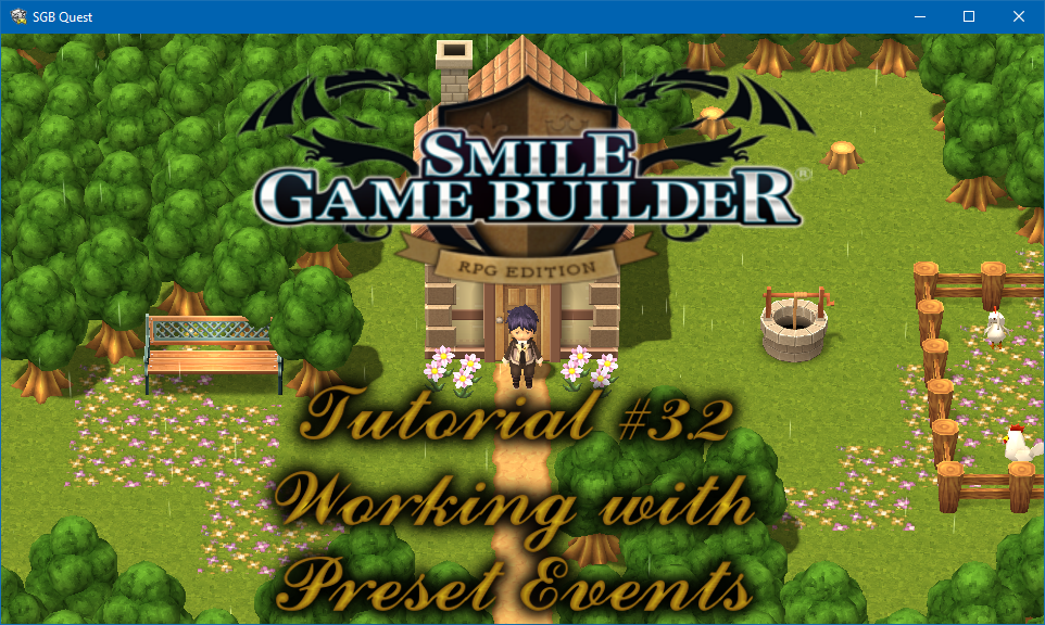Smile Game Builder – Tutorial #3.2: Working with Events