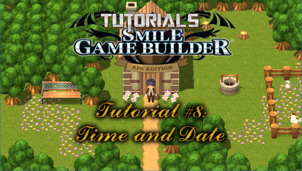 Smile Game Builder Tutorial #8: Time and Date
