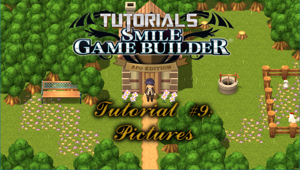 Smile Game Builder Tutorial #9: Pictures