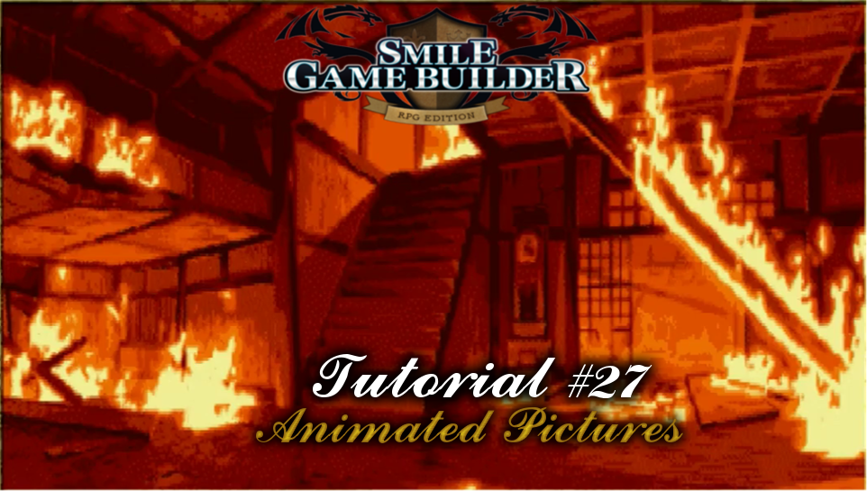 Smile Game Builder Tutorial #27: Animated Pictures