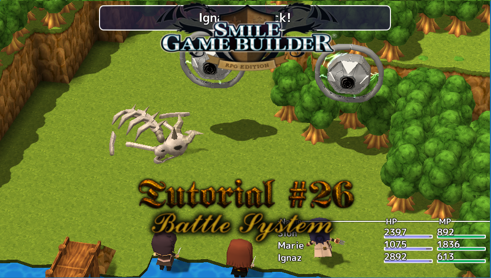 Smile Game Builder Tutorial #26: Battle System