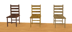 Hi-Tex House Pack - Furniture - Chairs Pic
